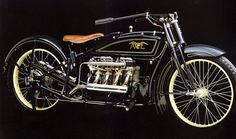 An Ace motorcycle (predecessor to the Indian Four) designed by William Henderson.