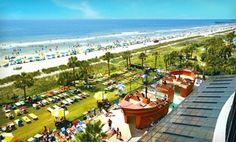 Groupon - Stay at The Breakers Resort in Myrtle Beach, SC, with Dates Through June in Myrtle Beach, SC. Groupon deal price: $62.00