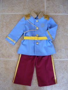 Prince Charming Children's Costume by ANeedlePullingThread on Etsy, $52.00.   AHHHH!! Precious.