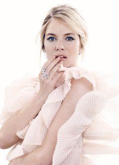 Cool Chic Style Fashion: Sienna Miller in Harper Bazaar UK \ Celebrità