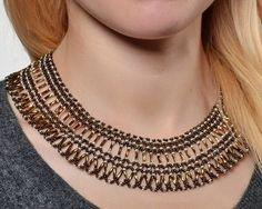 Free pattern for necklace Adriana | Beads Magic | Bloglovin' .........................................................................................................Schmuck im Wert von mindestens g e s c h e n k t !! Silandu.de besuchen und Gutscheincode eingeben: HTTKQJNQ-2016