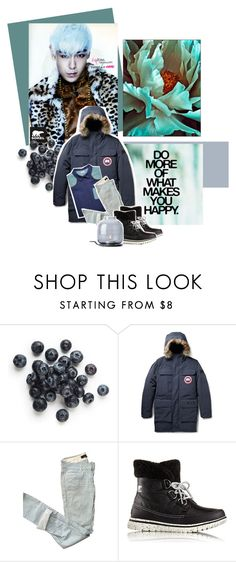 """- Tame - [TOP of BIGBANG]"" by moonabout ❤ liked on Polyvore featuring SOREL, Victoria Beckham, Canada Goose, Isabel Marant, Menu, men's fashion and menswear"