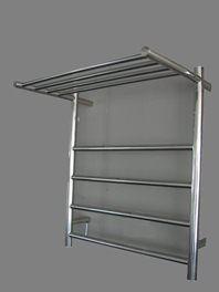 shelf heated towel rail