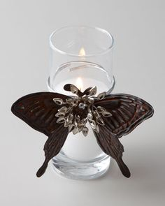 Adelita Butterfly Candle by Jan Barboglio at Neiman Marcus.
