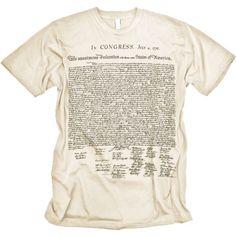 bed5faa2c73 Nerd Alert  Fashion! Us Declaration Of IndependenceCycling T ShirtsMens  FashionGuy FashionDapper MenMy T ShirtTee DesignGraphic TeesJohn Doe