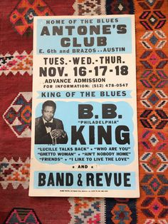 B. B. King  Original Boxing Style Blues by SherwoodsTreasures
