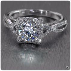 Vintage love :) verragio engagement ring