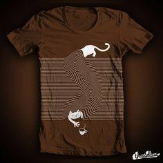 até camiseta!