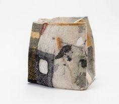 Time Souvenir II, 2015 Wool, Sumi Ink on Silk