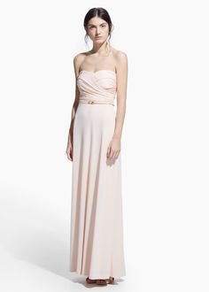 ONLINE EXCLUSIVE - Draped gown