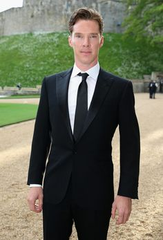 Benedict Cumberbatch attends The Royal Marsden Cancer Charity Gala dinner at Windsor Castle May 13th 2014