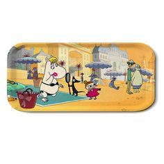#Moomins on the Riviera beach #tray