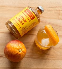 Lemon Ginger Cocktail Syrup by Raft on Scoutmob