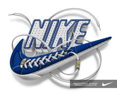 Nike - Futura logo by Marcelo Schultz, via Behance