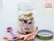 IQS 8-Week Program - Coco-Berry Yoghurt Smash; I'm selecting all of the breakfast meals because breakfast is always a hectic time in our household. I need all the help I can get!