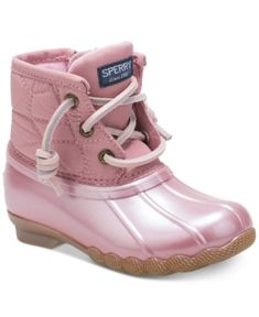 8ba3b27dc6 Sperry Toddler & Little Girls Saltwater Boots & Reviews - Kids' Shoes -  Kids - Macy's