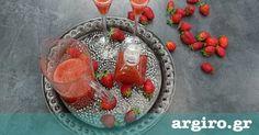Λικέρ φράουλας από την Αργυρώ Μπαρμπαρίγου   Φτιάξτε αυτό το λικέρ φράουλας, και καταπλήξτε τους φίλους σας ευχάριστα, κερνώντας τους αυτό το μοναδικό ποτό Acai Bowl, Beverages, Food And Drink, Breakfast, Recipes, Acai Berry Bowl, Morning Coffee, Recipies, Ripped Recipes