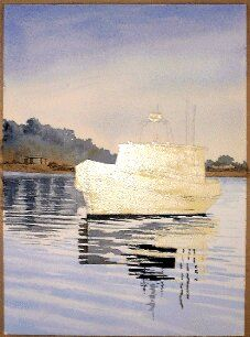 How to Paint a Boat in Watercolors