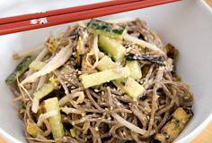 delicious otsu (sesame soba noodles) Napa Cabbage Recipes, Soba Recipe, Asian Recipes, Ethnic Recipes, Soba Noodles, Asian Cooking, Recipe Using, Delish, Stuffed Mushrooms