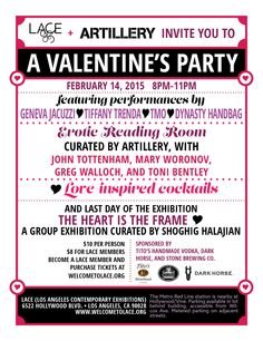 2/14/15 LA Contemporary Exhibits Valentine's Day party