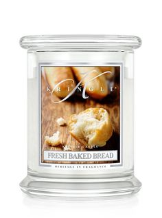 Fresh Baked Bread | Medium Classic Jar (14.5oz) 2-wick | Kringle Candle