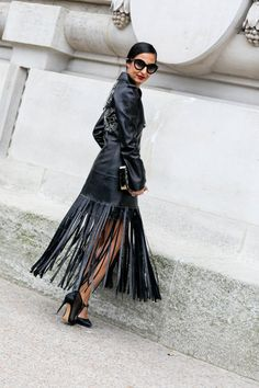 Pin for Later: The Best Street Style Snaps From Paris Fashion Week PFW Day Eight Nausheen Shah