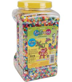 Perler Fun Fusion Fuse Bead Activity Kit-Box Of Beads | Fuse Beads ...