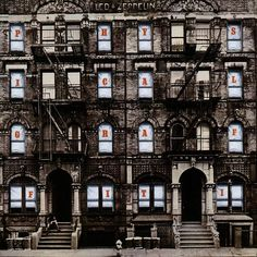 March 22, 1975 - Led Zeppelin started a six-week run at No.1 on the US album chart with Physical Graffiti, the group's fourth US No.1 album. On its first day of release in the US, the album shipped a million copies – no other album in the history of Atlantic records had generated so many sales. Physical Graffiti has now been certified 16 times Platinum by the Recording Industry Association of America (RIAA) for US sales in excess of 16 million copies