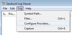 Log > Configure Providers