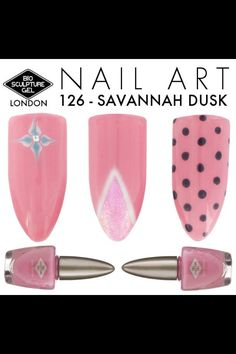 Great & simple nail art Bio Gel Nails, Gel Nail Art, Easy Nail Art, Bio Sculpture Gel Nails, London Blog, Nails Inspiration, Design Inspiration, Pretty Nails, Savannah Chat