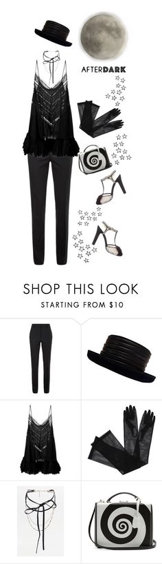 """After Dark: Party Outfit'"" by dianefantasy ❤ liked on Polyvore featuring Victoria Beckham, Kokin, Natasha Zinko, Gucci, Mark Cross, Chanel, polyvorecommunity, polyvoreeditorial and afterdark"