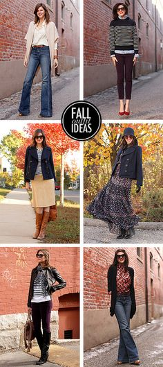 10 Great Outfits for Fall by What I Wore, via Flickr