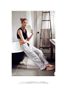 a portrait of a muse: carolyn murphy by dan martensen for muse #32 fall 2014…