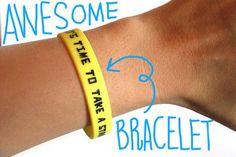 The BULLY Project Bracelet.