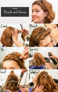 The braided style that still lets you wear your waves!