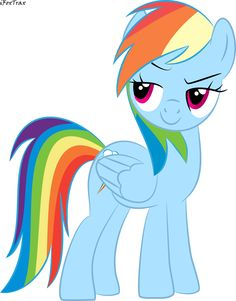 I would obviously have this pin. She IS Rainbow Dash.