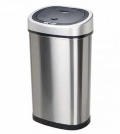 10 best top 10 best stainless trash cans in 2018 images on pinterest rh pinterest com