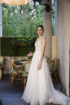 See more wedding dresses from Lela Rose Bridal Fall 2017.