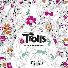 Booktopia has It's Color Time! (DreamWorks Trolls), Adult Coloring Book by Random House. Buy a discounted Paperback of It's Color Time! (DreamWorks Trolls) online from Australia's leading online bookstore. Coloring Pages For Kids, Adult Coloring, Coloring Books, Kids Coloring, Coloring Sheets, Trolls Birthday Party, Troll Party, 4th Birthday, Shrek