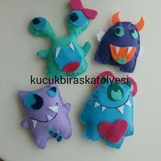 minik canavarlar  mounsters for kids