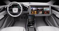 Driving into future #volvo #concept26