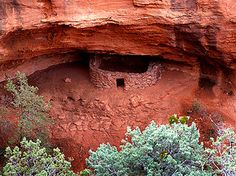 Lost Canyon Vortex, Sedona, AZ This ancient ruin is located deep in the backcountry of Sedona.