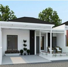 Classic House, Minimalis House Design, Bungalow House Design, House Styles, Home Room Design, Home Building Design, Japanese Home Decor, Home Design Plans, Country House Design