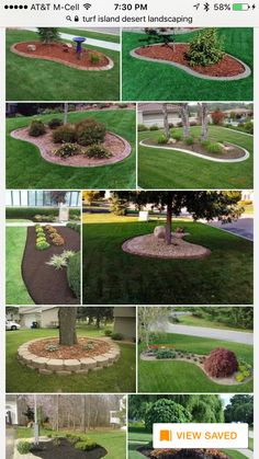 Advice, tactics, and also resource in the interest of obtaining the very best result as well as ensuring the maximum perusal of Flowers Landscaping Front Yard Front Yard Garden Design, Garden Yard Ideas, Garden Edging, Garden Landscape Design, Lawn And Garden, Garden Trees, Garden Plants, Landscaping Around Trees, Small Front Yard Landscaping
