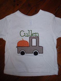 Halloween applique shirt by Lisey Lu: http://www.facebook.com/LiseyLu