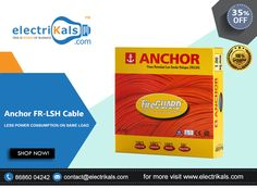 #FRLSHCable - Buy #Anchor P-27539 4.00 Sq.mm FR-LSH Cable-180 Meters Coil @ electrikals.com #electrikals #OnlineShopping