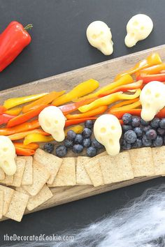 For an easy fun food for Halloween, try this The Scream cheese Halloween appetizer. It's perfect for your Halloween party.VIDEO