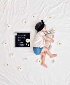 The most versatile and minimalist decoration for your home - felt letter board. Totally in love with and all of the fun boards they create! Inspirational and funny letter board quotes. The Letter Tribe 3 Month Old Baby Pictures, Milestone Pictures, Monthly Baby Photos, Newborn Pictures, Baby Letters, Felt Letters, Felt Letter Board, Foto Baby, Baby Milestones