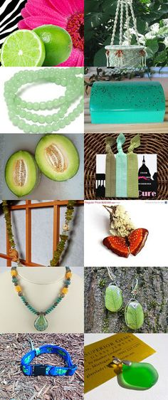 sweet green  10 by Svitlana on Etsy--Pinned with TreasuryPin.com