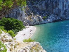 Naturist Beach Tucepi resort Makarska riviera Croatia